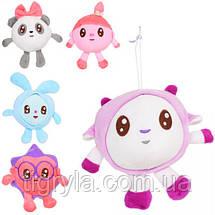 Комплект із 5-ти м'яких музичних іграшок Малишаріки, фото 3