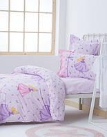 Детское постельное белье Karaca Home Selkie 2017-1 lilac ранфорс подростковое