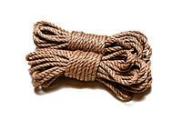 Веревка для Шибари 6мм натуральная 4м