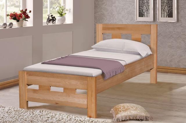 Кровать односпальная Space, бук натуральный