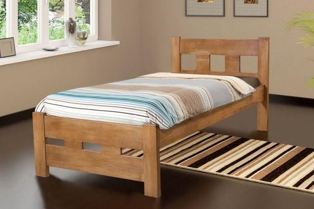 Кровать односпальная Space, тик