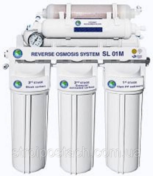Система зворотного осмосу BIO+systems RO-50-SL01M-NEW + мінералізатор