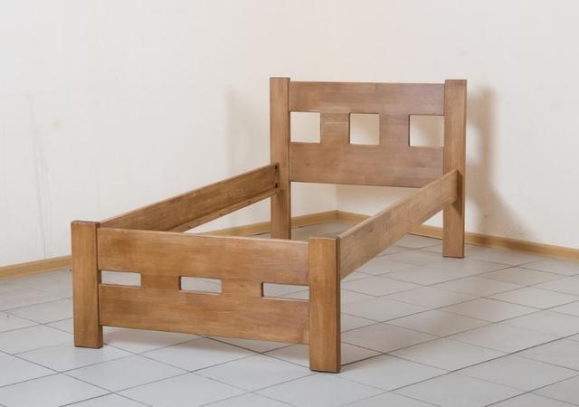 Кровать односпальная Space орех