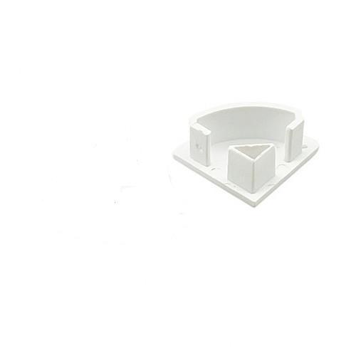Торцевая заглушка SL92 для скрытого углового профиля с отверстием (1шт) Код.59417