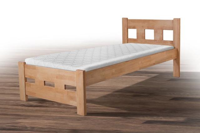 Кровать односпальная Space, бук натуральный (фото 2)