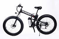 Электровелосипед Hummer electrobike foldable Черный 350, КОД: 213565