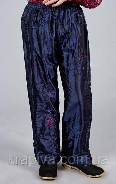 Детские зимнее не продуваемые штаны на флисе, непромокаемые