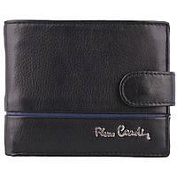 Мужское портмоне из натуральной кожи Pierre Cardin 323A-TILAK15 Black, фото 1