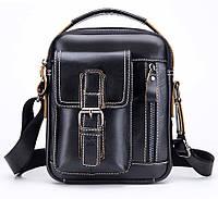 Мужская кожаная наплечная сумка барсетка BullCaptain. Сертифицированная  компания. eb26d607c0a