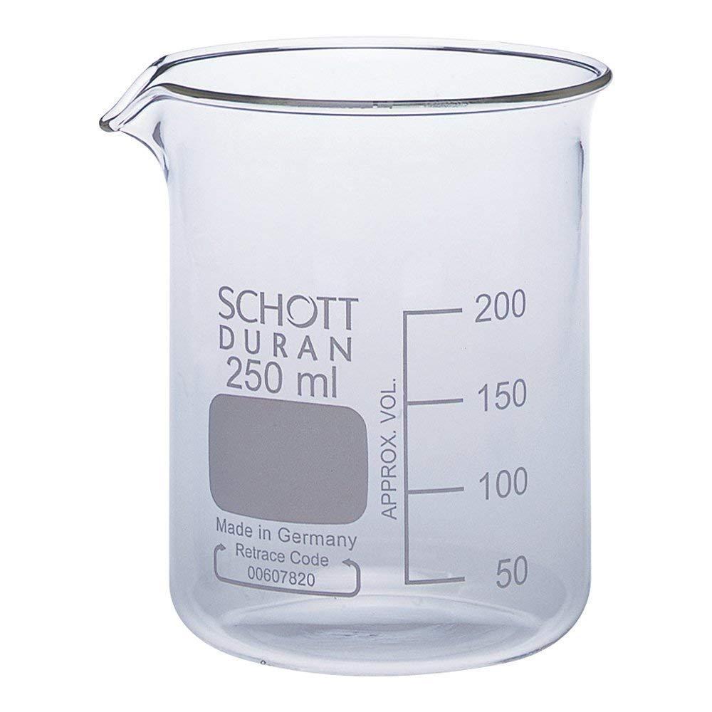 Мірний стакан низький DURAN, 250 мл