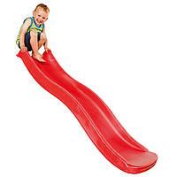 Горка спуск Tweeb  1,75м для детской площадки  Красная, фото 1
