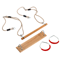Набор для качелей FUN PACK : сидение, трапеция и гимнастические кольца