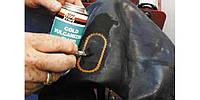 Ремонт больших повреждений на камерах методом наложения Rema Tip Top