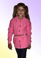 Вязаная детская кофточка м 9593, разные цвета