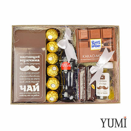 Стильный набор сладостей для мужчины, фото 2
