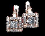Серьги серебряные  Lady 41275, фото 2