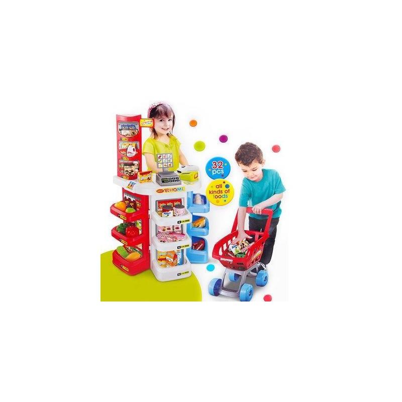 Детский игровой набор Супермаркет 668-20 магазин