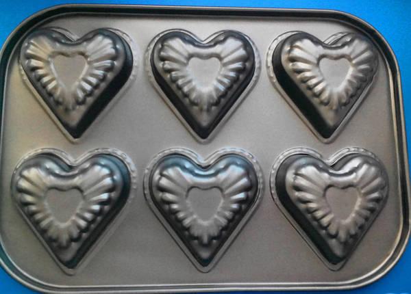 Форма для выпечки Сердца, фото 2