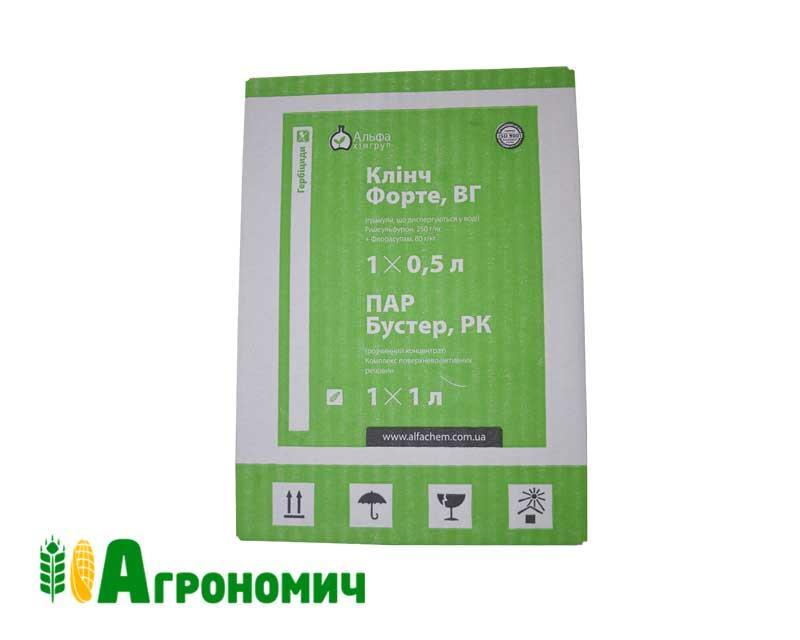 Комплект Гербіцид Клінч Форте 0,5 кг + 1 л ПАР Бустер | ALFA Smart Agro