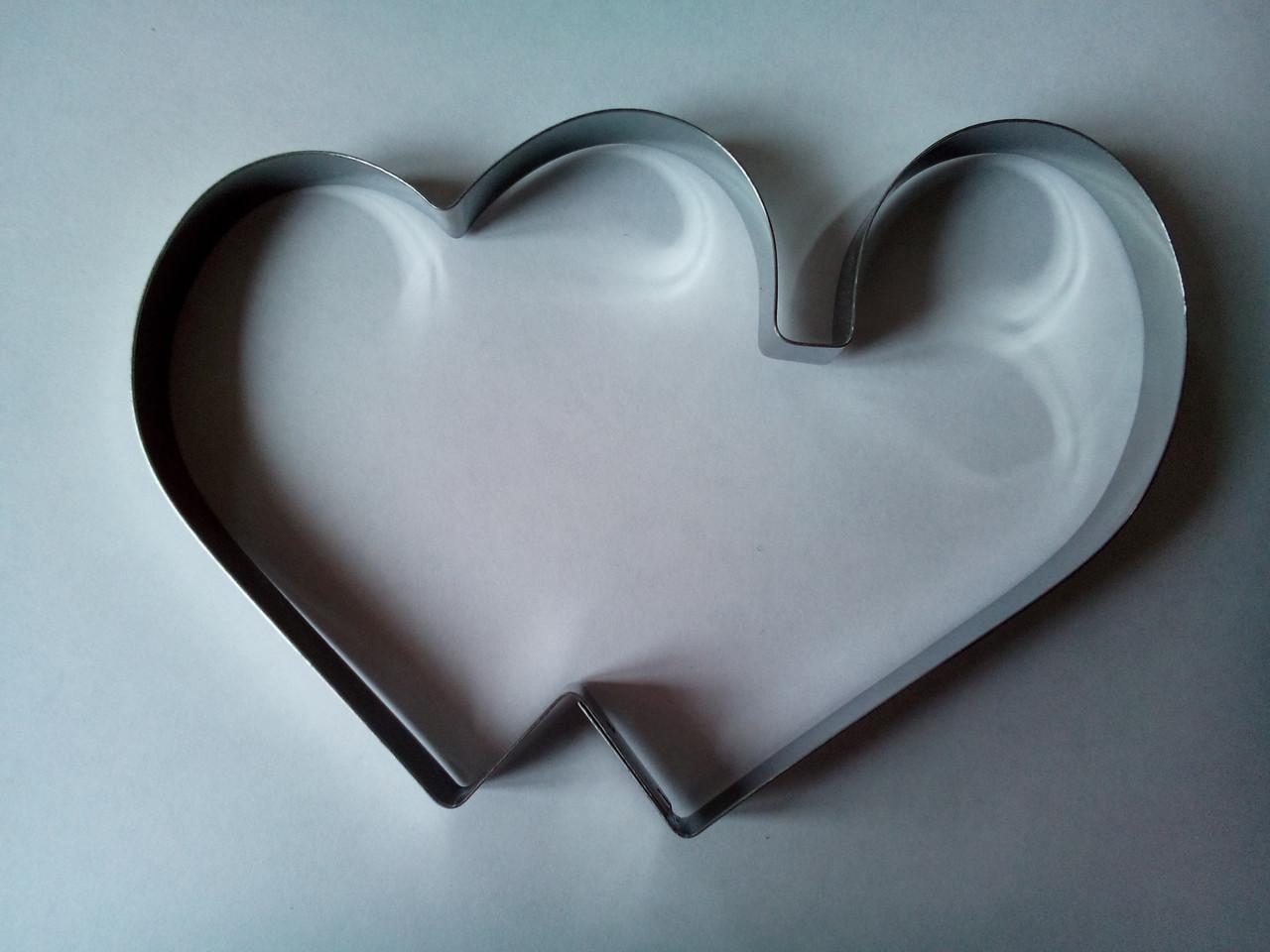 Форма металл для пряников сердца