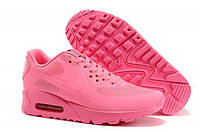 NIKE AIR MAX 90 HYPERFUSE розовые /женские кроссовки / сетка / весна-осень