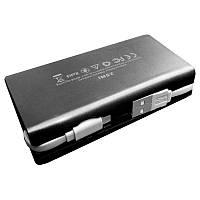 Внешний аккумулятор (Power Bank) FrimeCom 2SMI-BK 4000 mAh Black LED