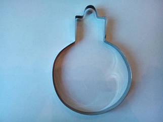 Форма металл для пряников новогодняя игрушка