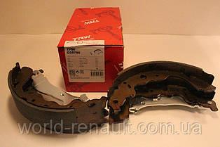 Барабанные тормозные колодки (задние) Renault Dokker c 2012г./ TRW GS8780