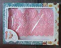 """Готовое кружево для торта """"Премиум"""" №2 Розовое"""