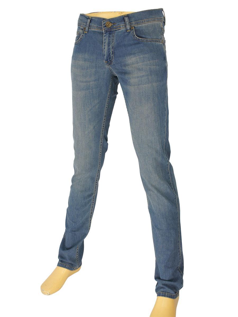 Стильні молодіжні джинси Cen-cor CNC-9292 B-Blue для чоловіків