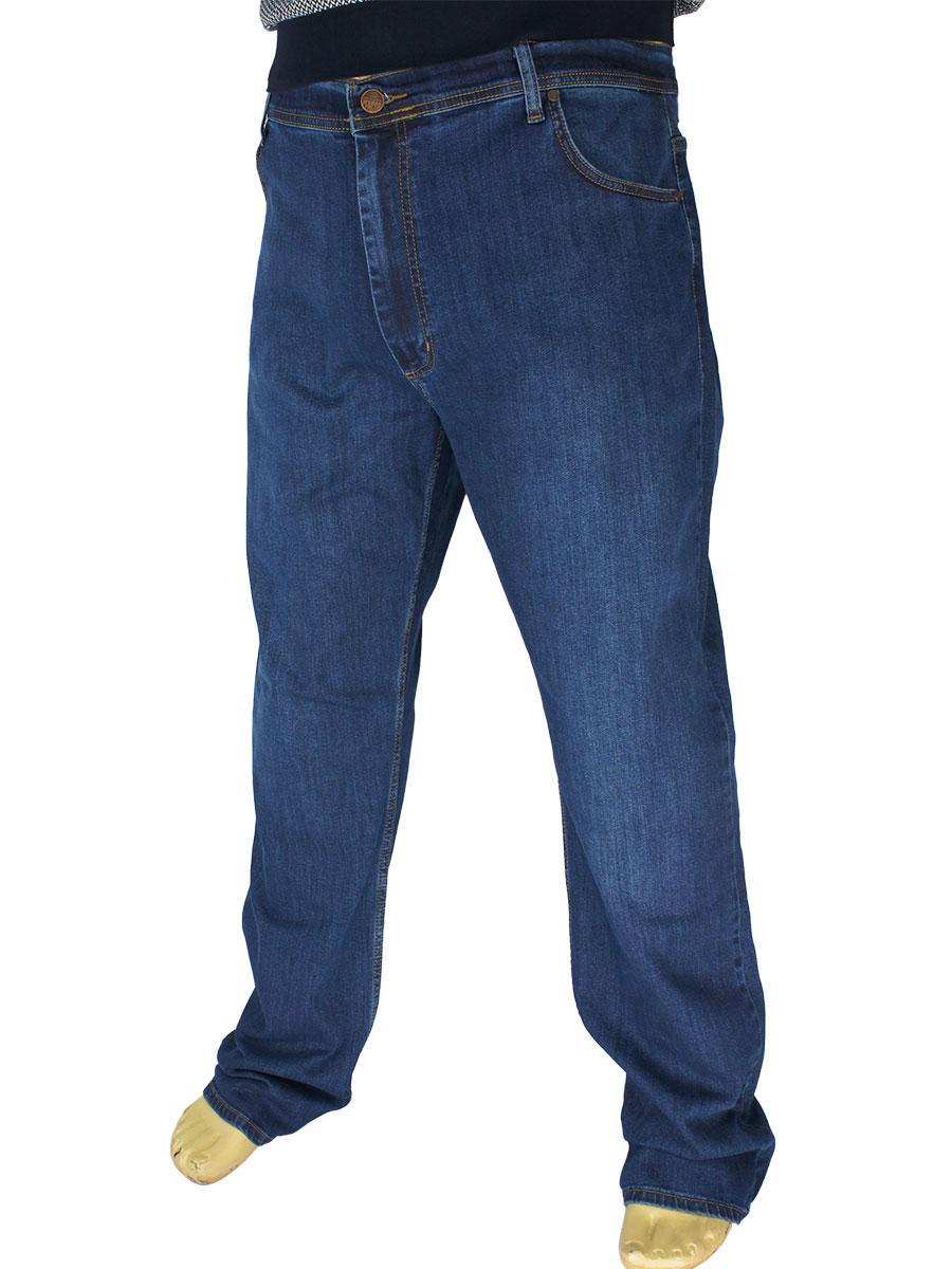 Чоловічі сині джинси Cen-cor CNC-1430-SBT Blue великого розміру