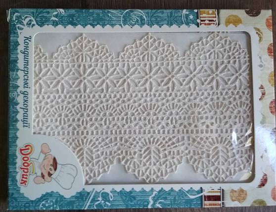 """Готовое кружево для торта """"Премиум"""" №1 Белое, фото 2"""