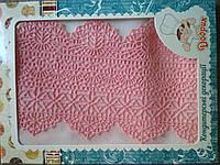 """Готовое кружево для торта """"Премиум"""" №1 Розовое"""