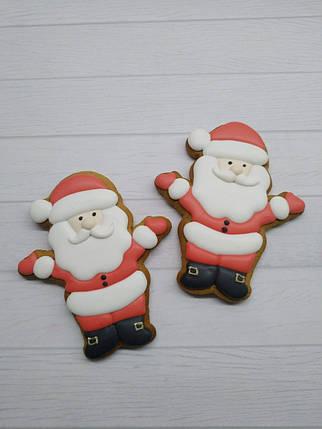 """Вырубка для пряников """"Санта Клаус"""" 1шт., фото 2"""