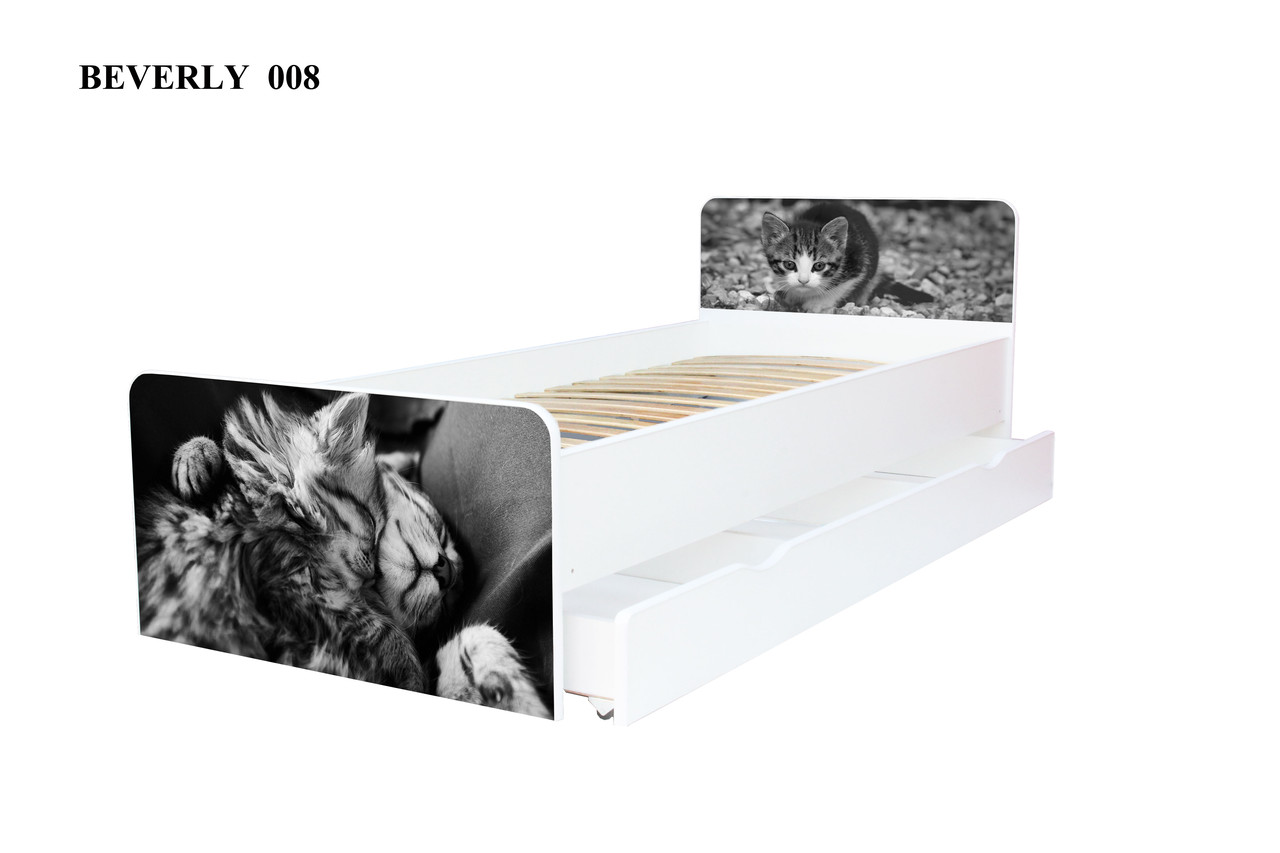 Детская кровать Beverly без ящика 80х190 (008)