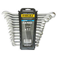 Ключи рожково-накидные 12шт 6-22мм CrV satine Sigma (6010121)