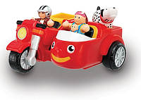 Мотоцикл с коляской Макс WOW Toys Красный (01022)