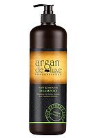 Шампунь для додання гладкості волоссю Argan De Luxe Professional Soft & Smooth Shampoo, 1000 ml
