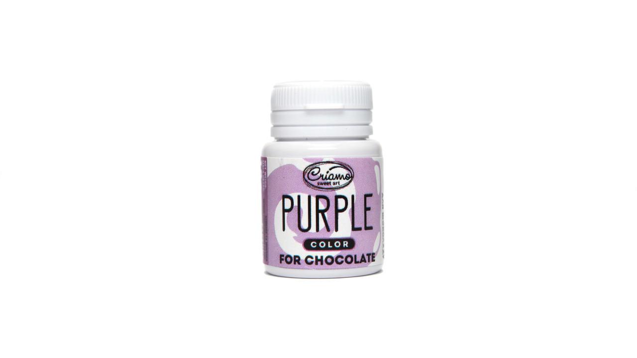Пастообразный пищевой краситель Criamo для шоколада Пурпурный