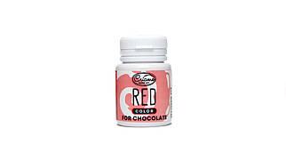 Пастообразный пищевой краситель Criamo для шоколада Красный