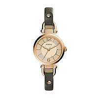 Женские часы Fossil Georgia Brown Leather ES3862