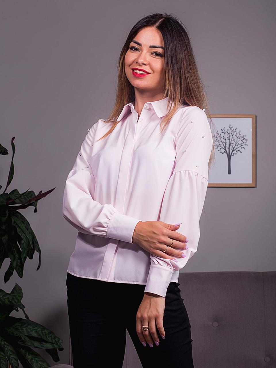 d15ade7fc55 Нарядная блуза с рукавами-фонариками
