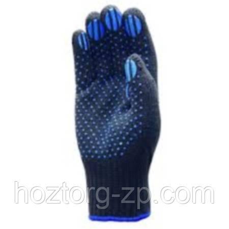 Перчатки  с ПВХ точкой   супер