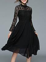 Элегантный Женское Кружевной патч-колокольный чехол Винтаж Платье 1TopShop 11d3b424fa8f4