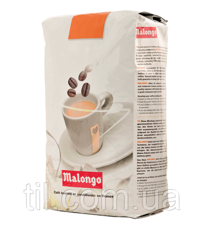 Кофе Malongo Colombia Supremo зерно 1 кг.