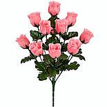 Букет бутон розы, 42см (20 шт. в уп.), фото 3