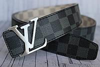 Ремень Louis Vuitton пояс серый