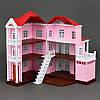 Домик Happy Family 1513 трехэтажный со светом, фото 2