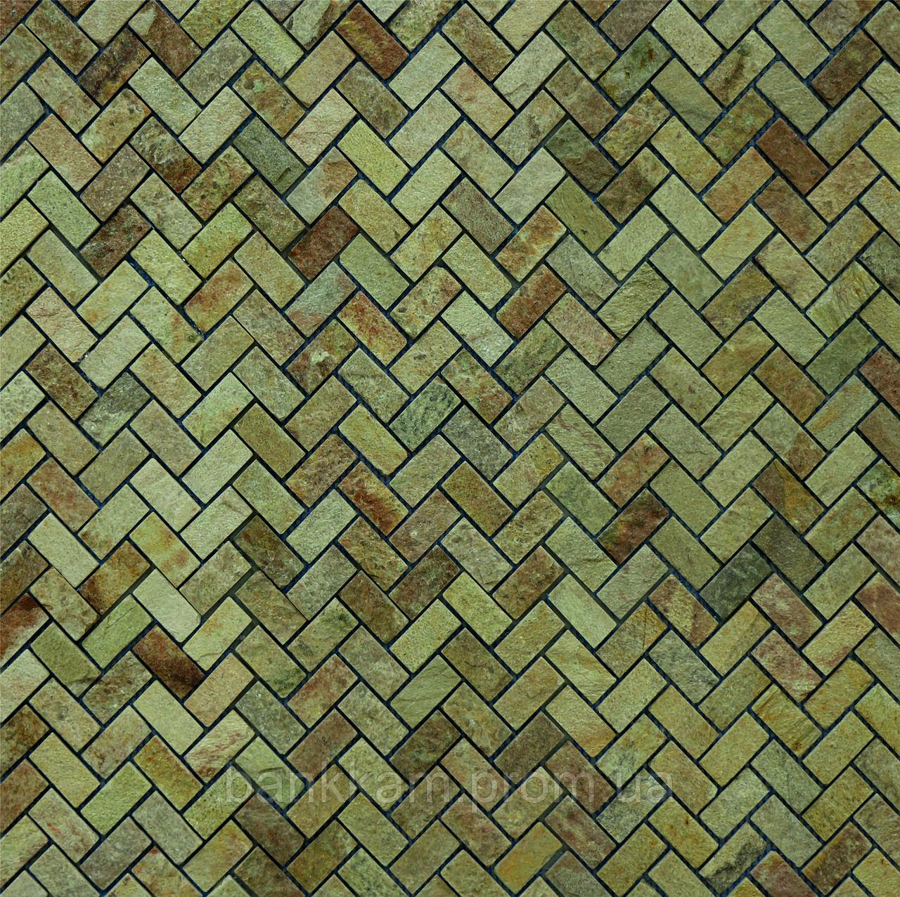 Мозаїка Кварцит ялинка (уп. 0,5 кв.м.)
