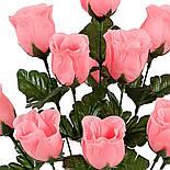 Букет бутон розы, 42см (20 шт. в уп.), фото 2